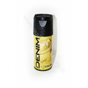 Denim Gold 24hod. deo spray pre mužov 150ml