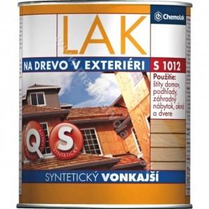 Lak na drevo v exteriéri syntetický S1012 0000 lesklý 2.5l