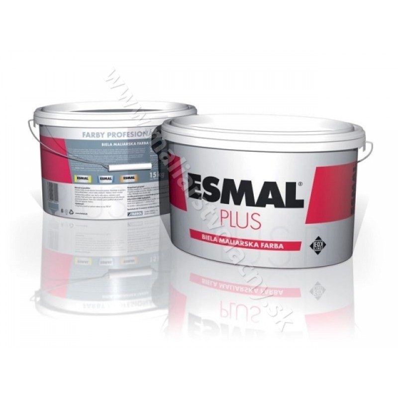 2d0d30942 Esmal Plus biela maliarska farba 2,5kg