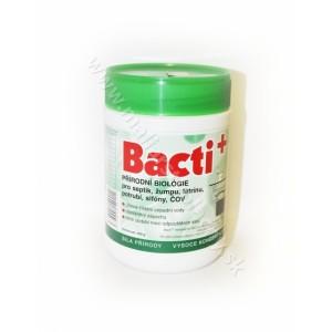 Bacti + prírodná biológia pre septik, žumpu, latrínu, potrubie, sifóny, ČOV 500g*
