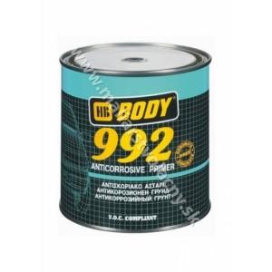 Body 992 sivý jednozložkový antikorózny základ 1kg*