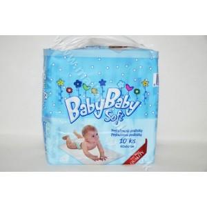 BabyBaby soft 60x60cm 10ks prebalovacie podložky pre deti