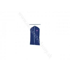 Obal na oblek tmavo modrý veľkosť 100 x 65cm M Alpha