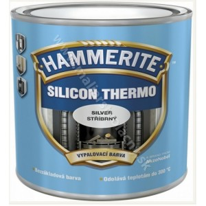 Hammerite Silicon Thermo čierna vypaľovacia farba 250ml