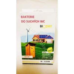 Biodry baktérie do suchých WC 100g