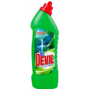 DR. DEVIL WC ČISTIČ gél natur fresh 750ML