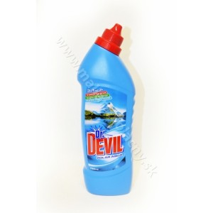 Dr. Devil WC čistič gél polar aqua 3v1 750mL