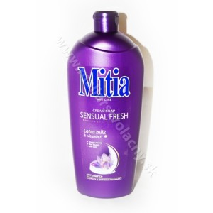 Mitia krémové mydlo Lotus milk & vitamin E 1l