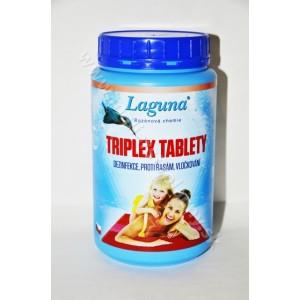 Laguna Triplex tablety 3v1 dezinfekcia, proti riasam, vločkovaniu 1kg*
