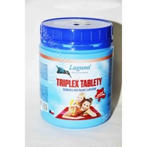 Laguna triplex tablety dezinfekcia, proti riasam a vločkovaniu 0,5kg