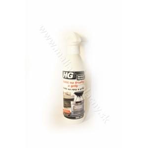 HG čistič sklenených dvierok krbov a pecí 500mL*