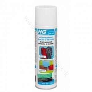 HG odstranovač pachov z textilu 400ml *