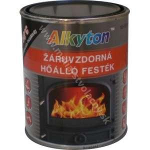 Alkyton žiaruvzdorná farba čierna 750stup.C 0.75l*
