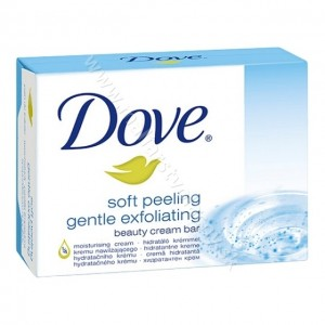 Dove mydlo soft peeling gentle exfoliating 100g