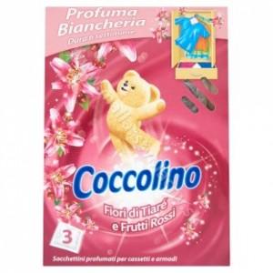Voňavé vankúšiky do skrine Coccolino 3ks vôňa kvetín
