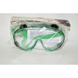Ochranné Okuliare zelené Protection-Line Schuller