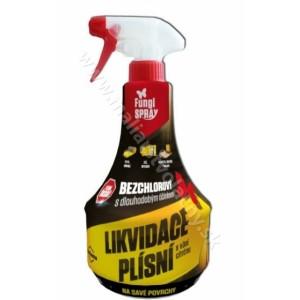 Fungi spray na likvidáciu pliesní citrónový 0,5L *