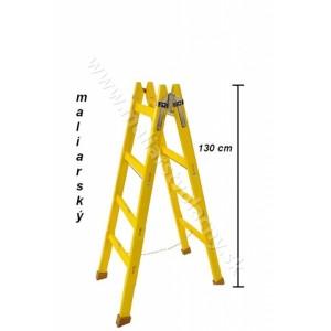 Rebrík drevený 4 radový