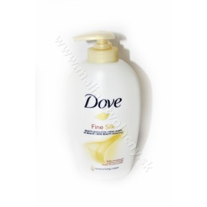 Dove krémové tekuté mydlo Fine silk 250ml