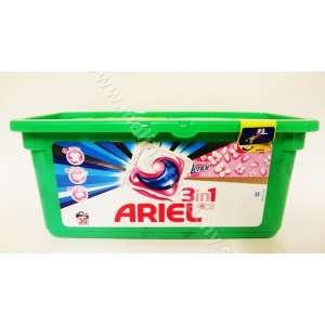 Ariel 3v1 capsule na pranie + aviváž 30ks na farebné prádlo