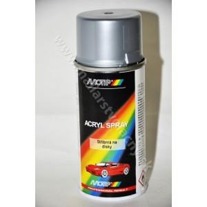 1cddcf37a MOTIP strieborná farba na disky 150ml*