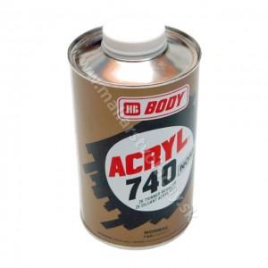 Body Acryl 740 normal špeciálne riedidlo 500 ml *