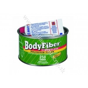 Body Fiber dvojžložkový stierkový tmel 250 zelený 1.5kg *