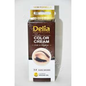 Delia Farba na obočie hnedá tmavá 15ml