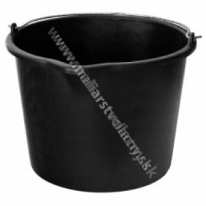Murárske vedro čierne umelohmotné 5L