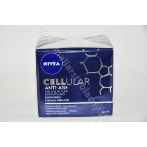Nivea cellular anti-age nočný krém redukujúci vrásky 50ml